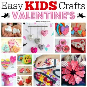 Easy Rainbow Heart Paper Weaving Activity for kids this Valentine's Day or Mother's Day. Great fine motor skills to making gorgeous Valentine's Hearts cards