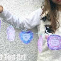 Printable New Year's Eve Garland