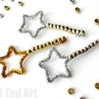 New Year's Eve Toddler Bubble Wands
