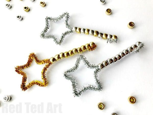 New Year S Eve Toddler Bubble Wands Red Ted Art
