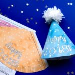2020 New Year's Eve Party Hat Printables