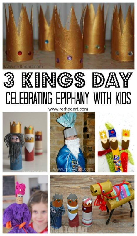 Toilet Paper Roll Camel Craft for Three Kings Day and Epiphany celebrations #camel #camelcraft #epiphany #3kings #3kingsday