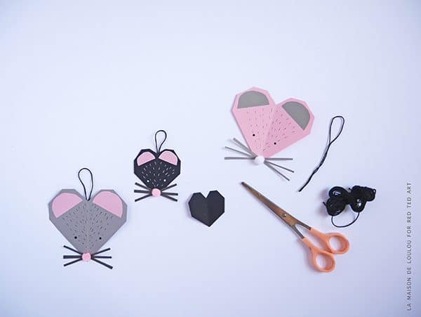 Mouse Heart Valentineu0027s Card   Oh What Can You Make From A Heart?! How