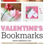 Valentine's Bookmark Designs