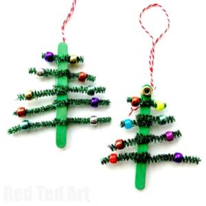 pipe cleaner trees