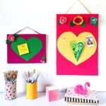 Heart Bulletin Board DIY