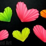 3D Paper Heart Accordions