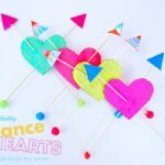STEAM Balancing Heart Toy for Valentine's