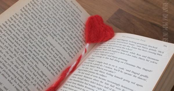 How to Needle Felt a Heart