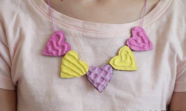 DIY Heart Necklace