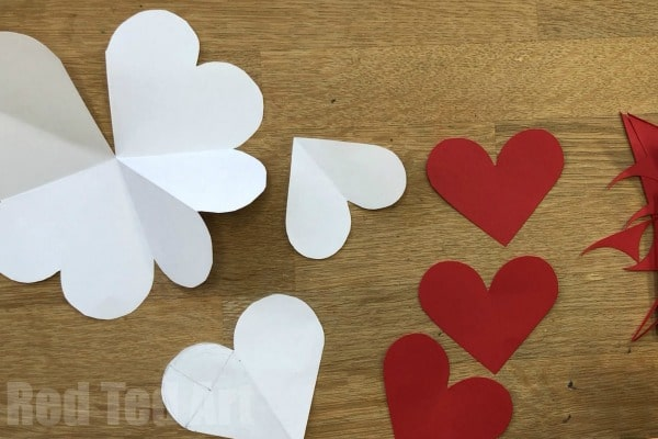 Valentines Day Heart Origami · How To Fold An Origami Shape ... | 400x600