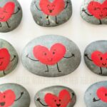 Friendship Rocks for Valentine's