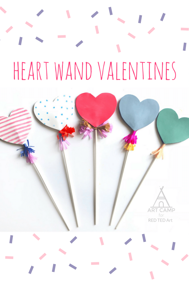 Heart Wand Kidsu0027 Valentines   Cast A Love Spell This Valentineu0027s Day With  These Cute