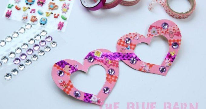 Kids' Valentine's Glasses Craft