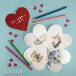 Printable Heart Notebook