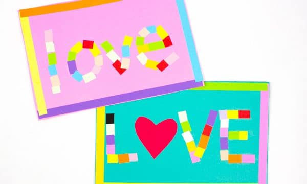 Mosaic Love Letter Cards