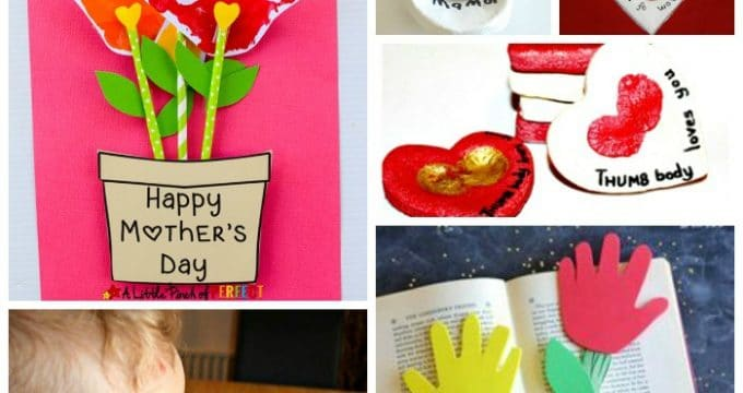 Mother's Day Handprint Ideas