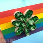 Paper Quilled Shamrock Cards