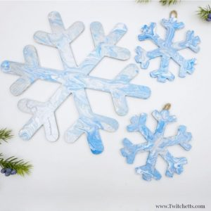 Snowflake Craft Ideas Red Ted Art