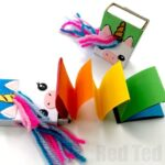 Matchbox Unicorn Notebook DIY