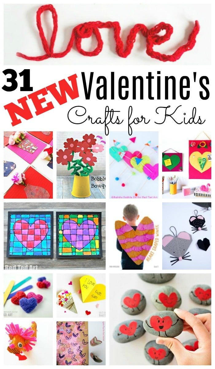 31 new valentines day projects for kids of all ages we love kids valentines day