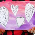 Watercolour Valentine's Cards – Mix Media Valentines Art