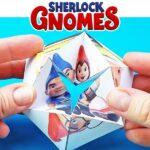 Sherlock Gnomes Printable Flextangles