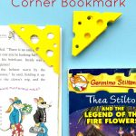 Cheese Corner Bookmark - how to make a corner bookmark without glue
