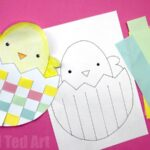 Easter Egg & Chick Paper Weaving