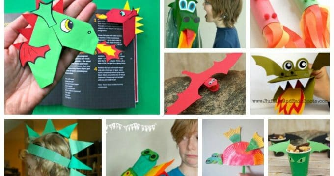 Dragon Crafts for St David's Day