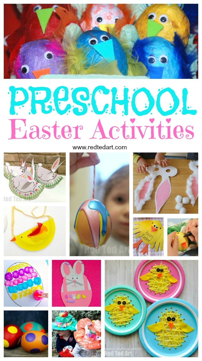 Easter Preschool Crafts - Wonderful Toddler Crafts for Easter. We love Easter Crafts for 2 and 3yrs olds. A delightful age group to craft with this Easter. Easy Easter Crafts #easter #preschool #toddler #crafts
