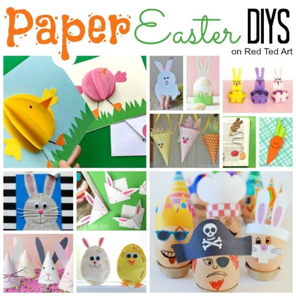 Exploring Triangles in the classroom? A fun Trinagle Paper Craft Bunny for Easter. Turns into an easy folding Easter Card too. Simple 3d Paper Bunny! #easter #paper #steam #shapes #maths #cards #bunny