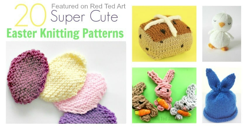 Easter Knitting Patterns Red Ted Arts Blog