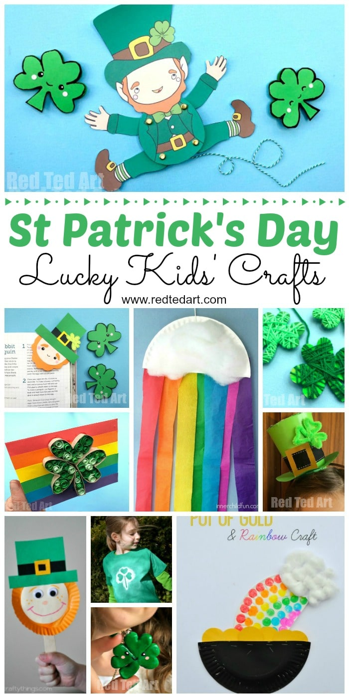 St Patricks Day Crafts Part - 24: Easy St Patricku0027s Day Crafts For Kids