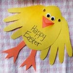 Easy Easter Cards for Preschoolers for Toddlers to make this Easter. We love Easter Crafts for kids!