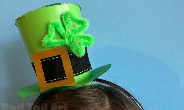 St Patrick's Day Hat DIY