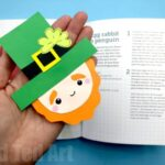 Leprechaun Corner Bookmark for St Paddy's Day