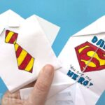 Easy Origami Shirt – Father's Day Card