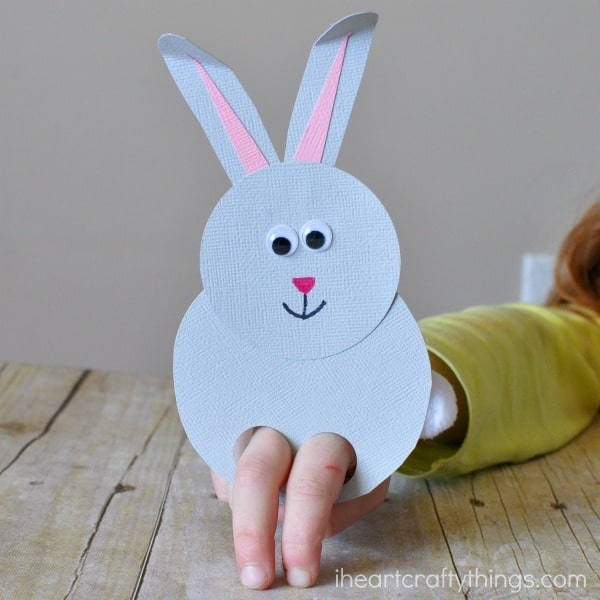 puppets for preschoolers to make bunny finger puppet craft 2 ted s 39004