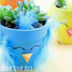 Spring Chick Planter DIY