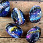 Galaxy DIY Easter Eggs