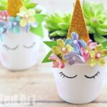 Unicorn Planter DIY