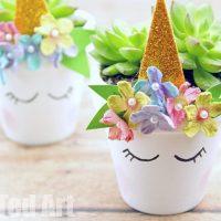 Unicorn Planter DIY