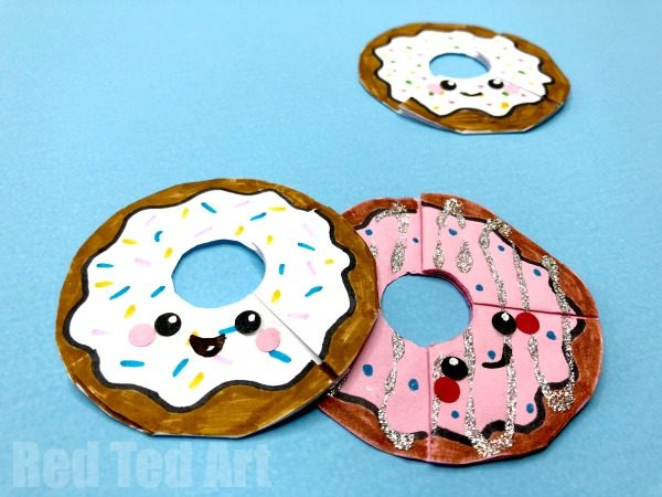 Kawaii Donut Bookmark Corners