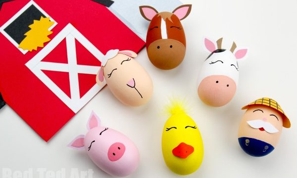 Old MacDonald Had a Farm Egg Decorating Ideas