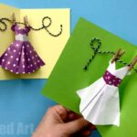 Pop Up Dress Card for Mother's Day