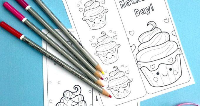 Printable Cupcake Bookmark
