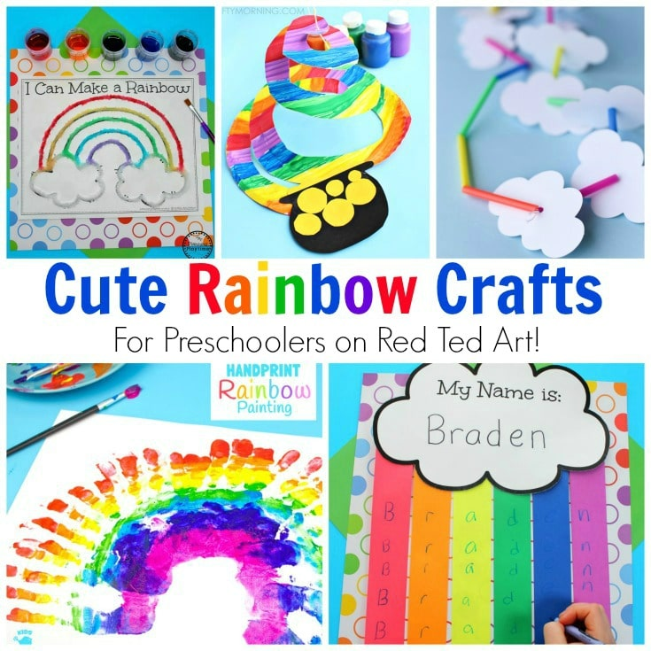 rainbow craft ideas for preschoolers rainbow crafts for preschool ted s 7085