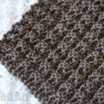 Waffle Stitch Dish Cloth Knitting Pattern