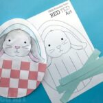 Bunny Basket Weaving for Preschool